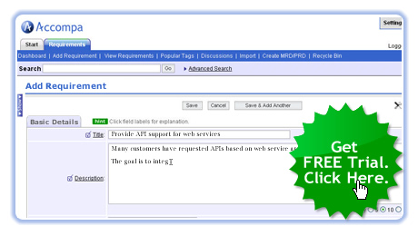 1 Requirements Management Software Tool for Business